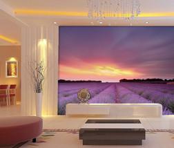 3D Schöne Lavendelfarm 7655 Fototapeten Wandbild Fototapete BildTapete FamilieDE - $52.21+