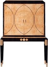 Bar Cabinet DAVID MICHAEL Transitional High Gloss Gold - $16,749.00