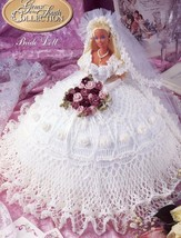 Bride Doll Gems of the South Outfit fits Barbie Doll Annie's Crochet Pat... - $4.47
