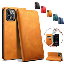 Flip Leather Case Card Phone Cover Wallet for Apple iPhone 12 Mini/12 Pro Max/11 - $46.24