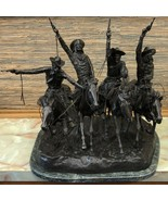 """""""Coming Through the Rye"""", Founders Authorized Lt. Ed. Bronze by Remingto... - $4,743.30"""
