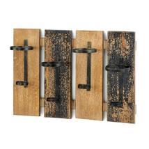 Wine Rack Wall Mount, Rustic Wooden Wine Rack Wall Mount Decor - $50.99