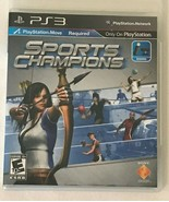 Sony PlayStation 3 PS3 Sports Champions Video Game with Case and Instruc... - $5.99