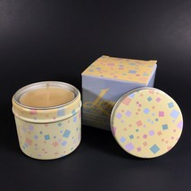"""RARE 1985 Avon Festival of Colors Lemon Candle New/Box Confetti 1 1/4"""" C... - $11.26"""