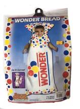 Wonder Bread  Newborn Infant Child Costume Halloween Dress Up 3-9 Months - $13.25