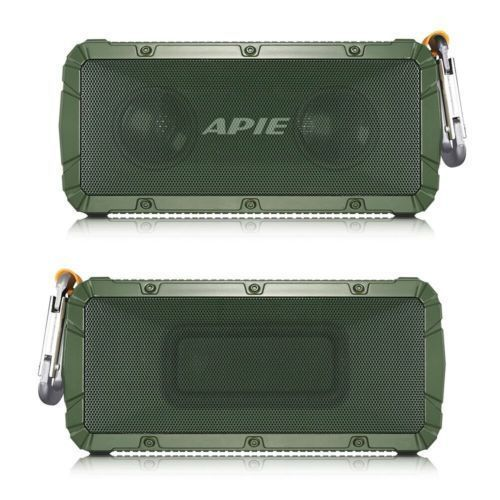 APIE Portable Wireless Outdoor Bluetooth Speaker W/ Full High Definition Sound