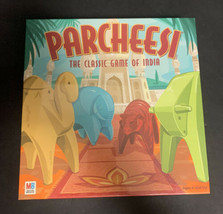 Parcheesi The Classic Game of India Board Game 2001 Milton Bradley Sealed - $56.09
