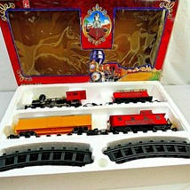 Toy State Train Set Classic Express Battery Operated The Royal Blue 1994... - $49.49