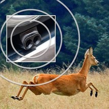 Animal Safety Alert Save A Deer Whistle Single Unit Air-activated Automo... - $11.09