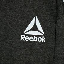 Reebok Men's Dark Gray Cotton Blend Crew Neck T-Shirt Size L image 4