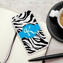 Zany Zebra iPhone Cover with White Trim - $33.29 CAD