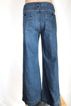 "GAP Women's Size 16 Wide Trouser Leg Stretch Denim Jeans 33"" Inseam EUC - $28.05"