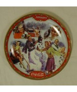 Bradford Exchange 18851A * Coca-Cola Collector Plate 5 3/4in January 199... - $43.05