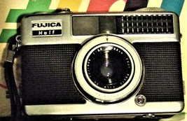 FUJICA HALF 35 MM CAMERA - $9.95