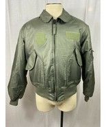 Vintage Military O-3 Captain Cold Weather Flyers Jacket 45/P Aramid Alph... - £60.85 GBP