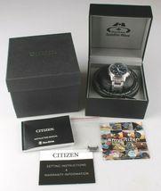 Original Citizen Eco-Drive Satellite Wave Men's Watch CC3000-89L NEW image 8