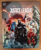 Justice League Limited Edition SteelBook (4K Ultra HD+Blu-ray)