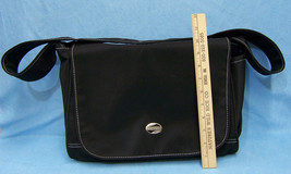 American Tourister Carry On Travel Luggage Black Shoulder Bag Nylon New - $8.90