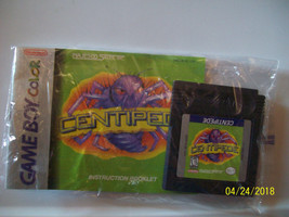 Centipede (Nintendo Game Boy Color, 1998) WITH MANUAL - AUTHENTIC - $9.00