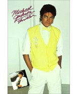 "Michael Jackson Collectibles Yellow Sweater ""Thriller"" Stand-Up Display - $16.99"