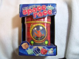 Space Race. Game. Unopened. 2004. Game Wright. Glow in dark. Ages 6 and up. - $40.00