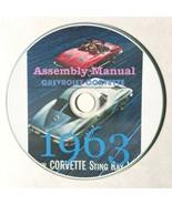 1963 Chevrolet Corvette Assembly Manual - $16.78