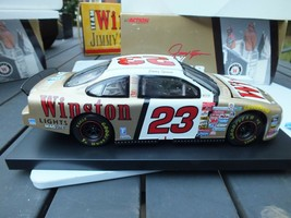 Jimmy Spencer # 23 Winston Action 1999 Taurus 1/24 DieCast Race Car Bank... - $24.73