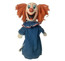Vintage Bozo The Clown Puppet By Mattel 1963 - $37.15