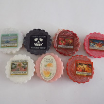 Yankee Candle Tarts Tart Melts Lot of 7 Scents Witches Brew Beach Walk a... - $11.39