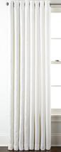 "New Liz Claiborne Home Kathryn Grommet Panel 50"" X 84"" White - $23.65"