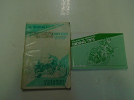 1996 Suzuki VS1400GL Owners Manual Damaged Worn Set Factory Oem Book 96 Deal *** - $19.76
