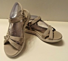 Skechers Women's GoMax Cushion Sole On The Go 600 Sandal Size 8/38 Tan  ... - $28.99