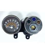 Suzuki 1978-1979 TS100 C-N Speedometer Ass'y MPH + Pilot Blub Case New - $67.19