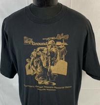 Vintage Vietnam War T Shirt Single Stitch Wisconsin Memorial Military 80... - $29.99