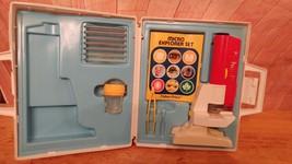 Vintage 1985 FISHER-PRICE MICRO EXPLORER SET Microscope         TOTE 23 - $12.86