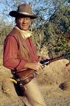 John Wayne in El Dorado great image holding rifle 18x24 Poster - $23.99