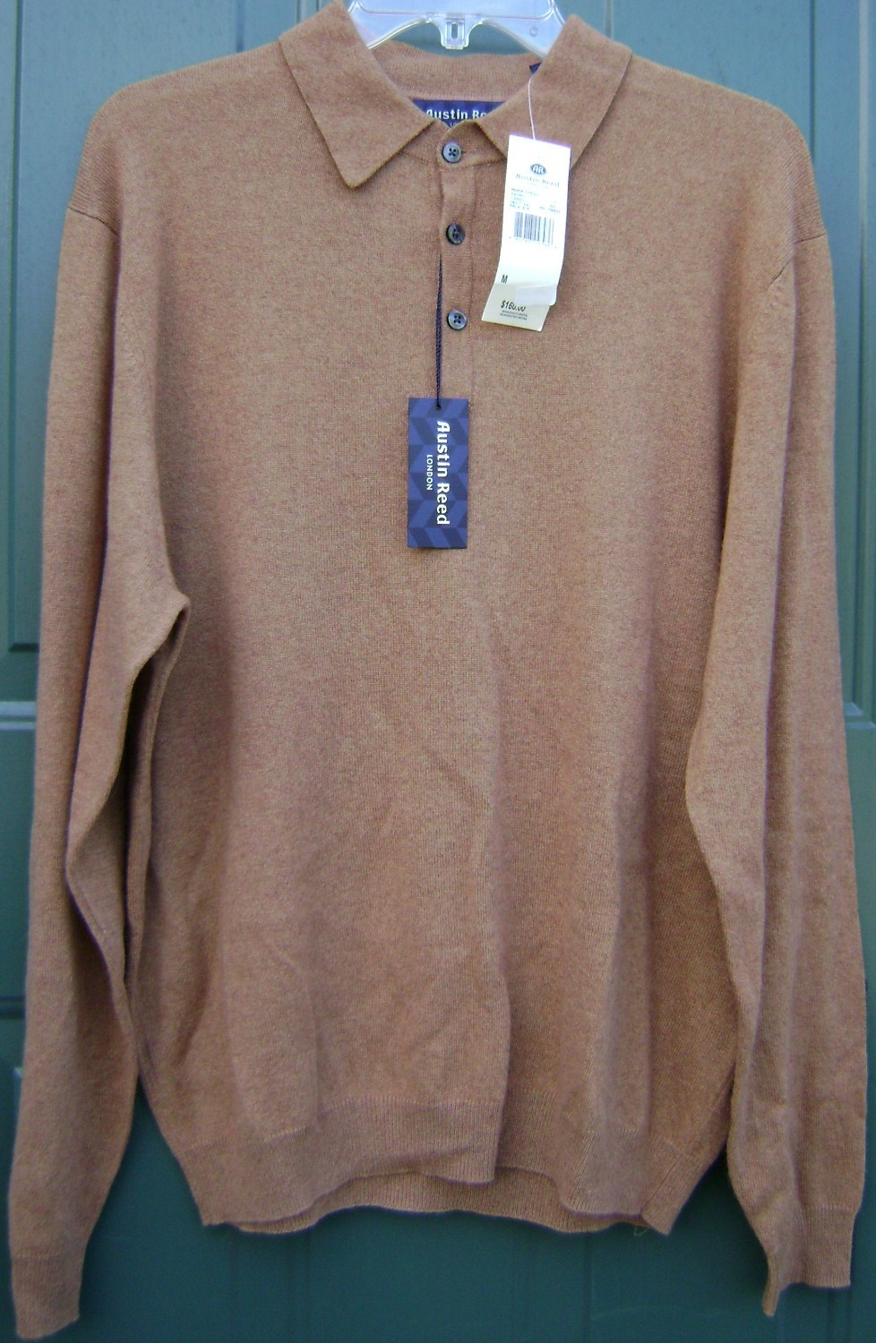 Austin Reed London Camel Men M Polo Sweater And Similar Items
