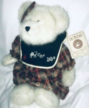 "Boyds Bears Miss Understood Thinkin Of Ya Series 12"" White Bear Genius Bear Tags - $29.69"