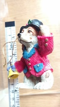 Charles DIckens Dog in Top Hat Christmas Tree Ornament  - $11.99