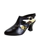 PEERAGE Jorja Women's Wide Width Louis Heel Leather Dress Pumps - $44.95