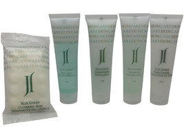 June Jacobs Blue Ginger Travel Set Shampoo, Conditioner, Lotion, Body Ge... - $16.00