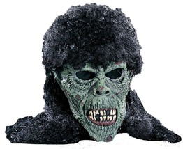 Death Rock Mask Adult Zombie Rocker Scary Creepy Halloween Costume Party... - $34.99