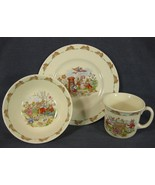 Royal Doulton Bunnykins 3 PC Children's Set Bowl Mug Plate Bone China E... - $47.95