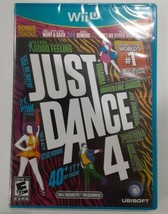 Just Dance 4 (Nintendo Wii, 2012) Video Game Complete Fast Free Shipping - $17.81