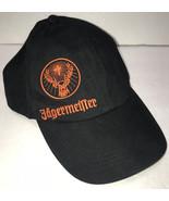 Jagermeister Adjustable Hat Embroidered Black Baseball Cap - £10.22 GBP