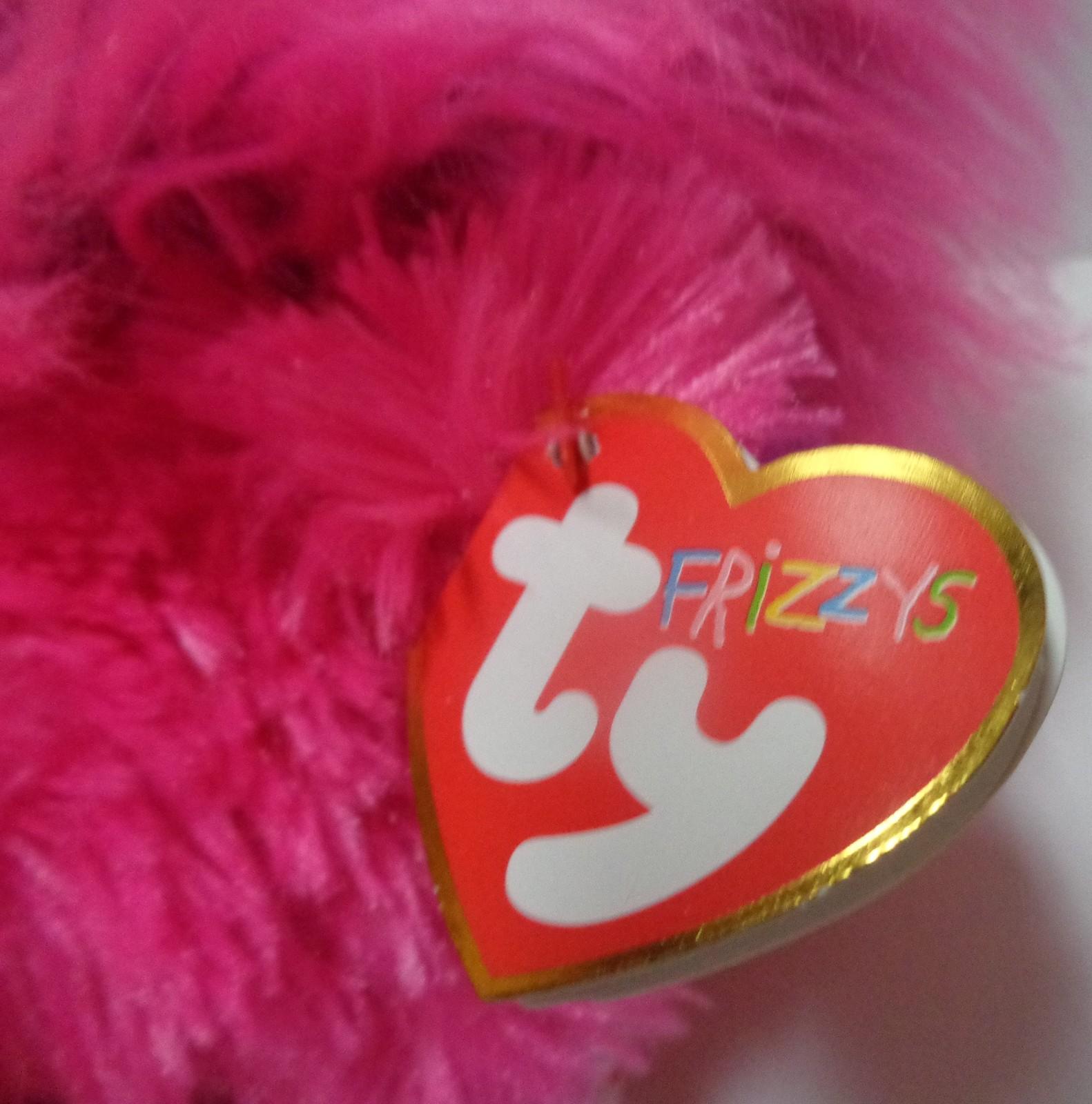 TY Frizzys Collection Beanie ZeeZee NWT May Birthday Pink