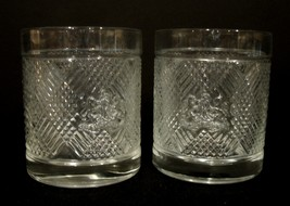 Ralph Lauren Safari Old Fahsion Whiskey Low Ball Crystal Glasses (2) - $20.00
