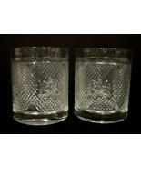 Ralph Lauren Safari Old Fahsion Whiskey Low Ball Crystal Glasses (2) - $20.00