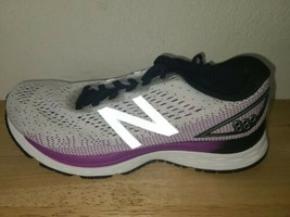 New Balance Womens 880 V9 W880WT9 White Black Running Shoes Lace Up Size 7.5 D - $59.39