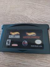 Nintendo Game Boy Advance GBA Hot Wheels: Stunt Track Challenge & World Race image 2